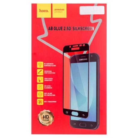 Folie sticla 2.5D Samsung Galaxy J5 2017, Hoco Ab Glue Aurie