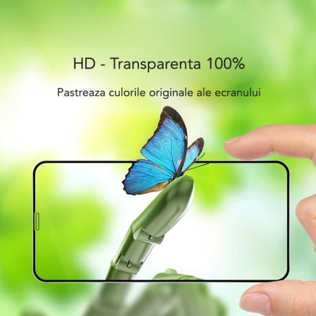 Folie sticla 3D iPhone 7/8/SE 2, Hoco Eyes Protection Neagra