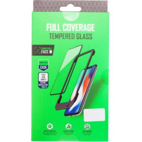 Folie Sticla 3D pentru iPhone XS Max Negru Vipo