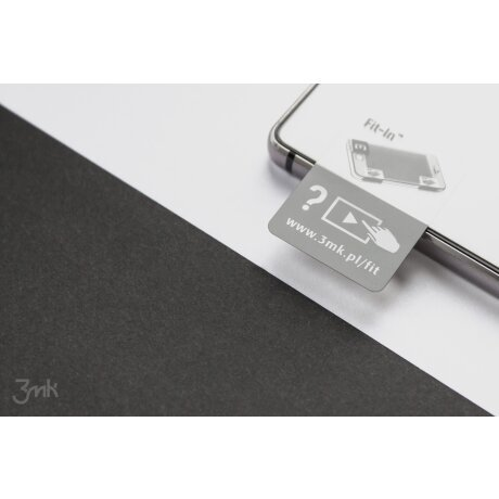 Folie Sticla 3Mk Flexibila Pentru Iphone 7/8/Se 2 Negru