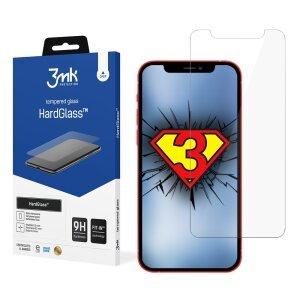 Folie Sticla 3MK HardGlass pentru iPhone 12 Pro Max Negru