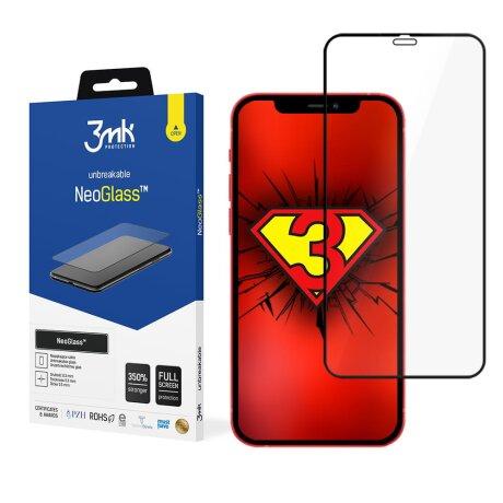 Folie Sticla 3MK NeoGlass pentru iPhone 12 Pro Max Negru