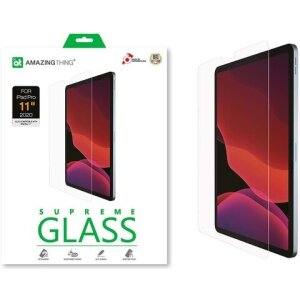 Folie Sticla AmazingThing Supreme pentru iPad Pro 2020 11 inch Transparent