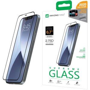 Folie Sticla AmazingThing Supreme pentru iPhone 12 Pro Max Transparent