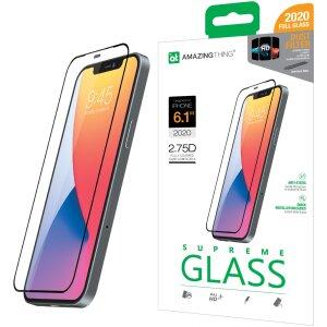 Folie Sticla AmazingThing Supreme pentru iPhone 12/12 Pro Transparent