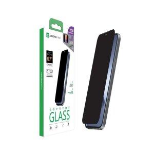 Folie Sticla AmazingThing Supreme Privacy pentru iPhone 12 Pro Max Negru