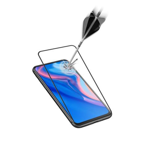 Folie Sticla Cellularline Anti-Shock pentru Huawei P Smart Z Negru
