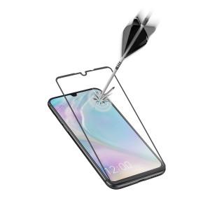 Folie Sticla Cellularline Anti-Shock pentru Huawei P30 Negru