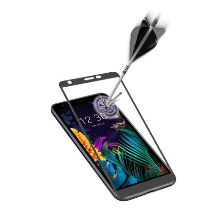 Folie Sticla Cellularline Anti-Shock pentru LG K30 Negru