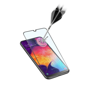 Folie Sticla Cellularline Anti-Shock pentru Samsung Galaxy A50/A30s Negru