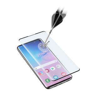 Folie Sticla Cellularline Anti-Shock pentru Samsung Galaxy S10e Negru