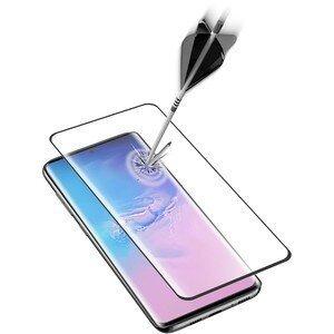 Folie Sticla Cellularline Anti-Shock pentru Samsung Galaxy S20 Plus Negru