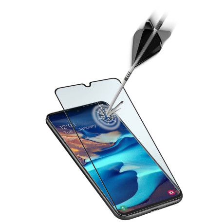 Folie Sticla Cellularline pentru Samsung Galaxy A91/S10 Lite Negru