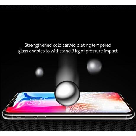 Folie sticla curbata Samsung Galaxy S6 Edge, Contakt Aurie
