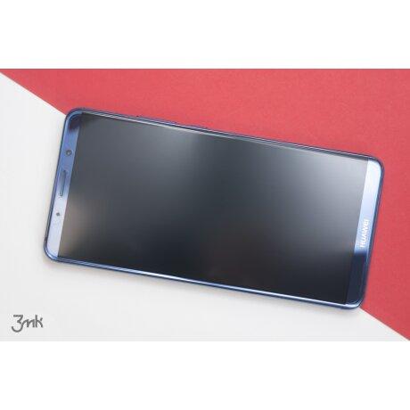 Folie Sticla Flexibila Pentru Huawei P20 Lite Negru 3Mk