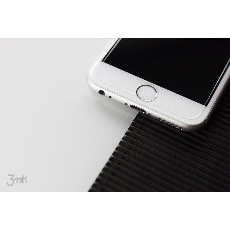 Folie Sticla Flexibila pentru iPhone 7/8 Plus Alb 3Mk