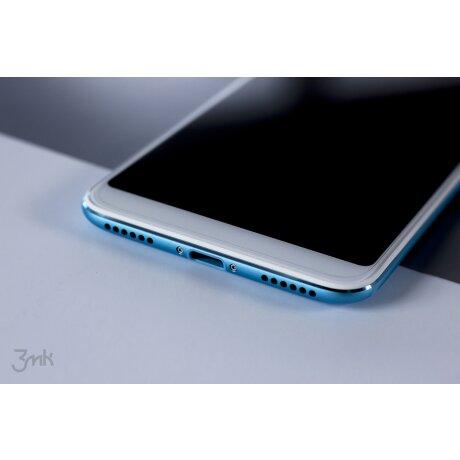 Folie Sticla Flexibila pentru iPhone X/XS Negru 3Mk