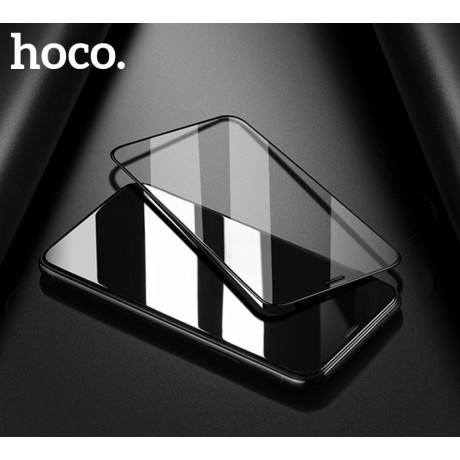 Folie sticla iPhone 7 Plus/8 Plus, Hoco Shatter-Proof Neagra