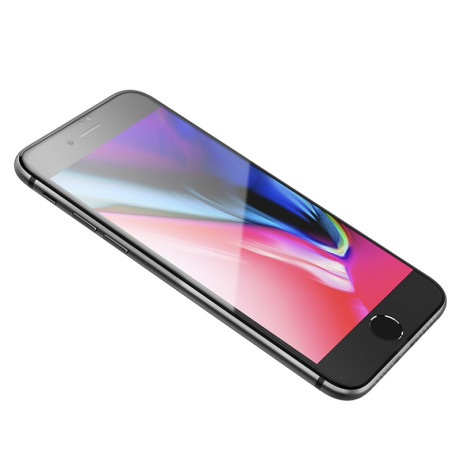 Folie Sticla iPhone 7/8/SE 2, Super Smooth Frosted Hoco, Negru