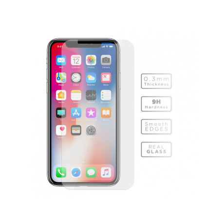 Folie sticla iPhone X, Vetter 0.3mm
