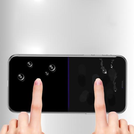 Folie sticla iPhone X, Vipo Neagra