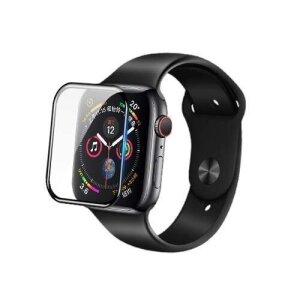 Folie Sticla Nillkin 3D pentru Apple Watch 44mm Series 4/5/6 / Watch SE Negru