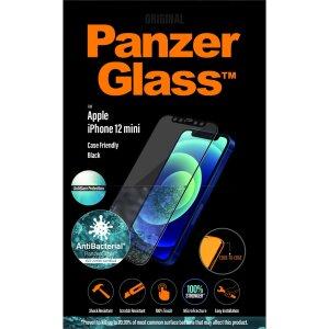 Folie Sticla Panzer Anti Reflexiv pentru iPhone 12 Mini Negru