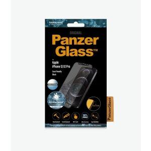 Folie Sticla Panzer Anti Reflexiv pentru iPhone 12/12 Pro Negru