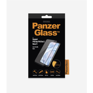 Folie Sticla PanzerGlass pentru Huawei P40 Lite/P40 Lite E, Negru