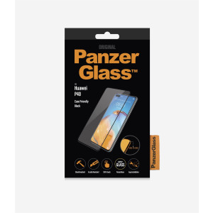 Folie Sticla PanzerGlass pentru Huawei P40, Negru