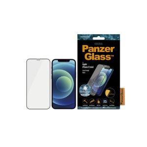 Folie Sticla Panzer pentru iPhone 12 Mini Negru