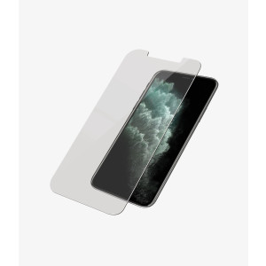 Folie Sticla Panzer pentru iPhone Xs Max/11 Pro Max Negru