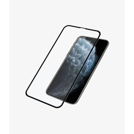 Folie Sticla PanzerGlass pentru iPhone X/XS/11 Pro Negru