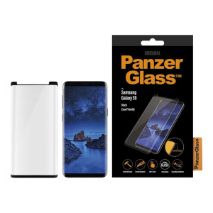 Folie Sticla Panzer pentru Samsung Galaxy S9 Negru