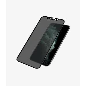 Folie Sticla Panzer Privacy pentru iPhone Xs Max/11 Pro Max Negru