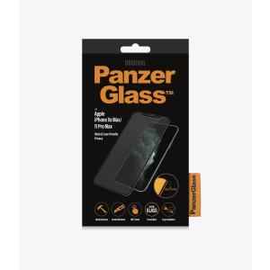 Folie Sticla PanzerGlass Privacy pentru iPhone Xs Max/11 Pro Max Negru