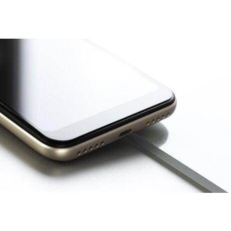Folie Sticla pentru iPhone X/XS/11 Pro, Negru Hardglass Max Lite 3MK