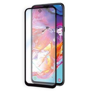 Folie Sticla pentru Samsung Galaxy Note 10 Negru Full Glue