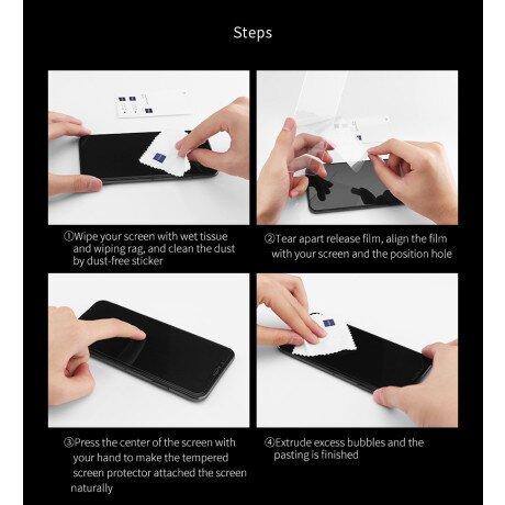 Folie Sticla pentru Samsung Galaxy S10 Full Glue Negru
