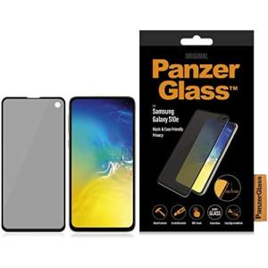 Folie Sticla Privacy Panzer pentru Samsung Galaxy S10e Negru