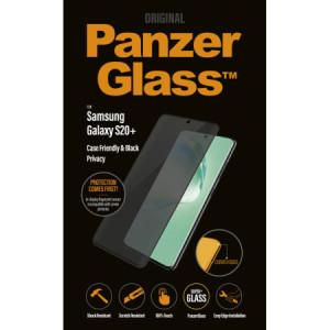 Folie Sticla Privacy Panzer pentru Samsung Galaxy S20 Plus Negru