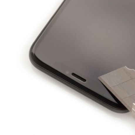 Folie Sticla Samsung Galaxy A70, Negru Hardglass Max Lite 3MK