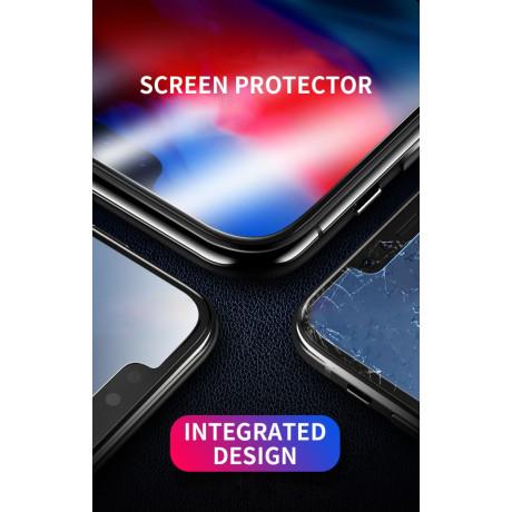 Folie sticla Samsung Galaxy A8 2018, Contakt Neagra