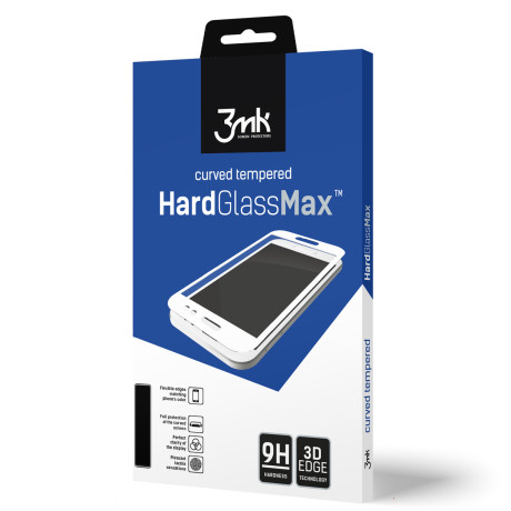 Folie Sticla Samsung Galaxy Note 10 Plus, Negru Hardglass Max 3MK