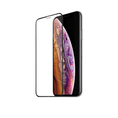 Folie sticla temperata 3D iPhone X, Hoco 0.2mm Neagra