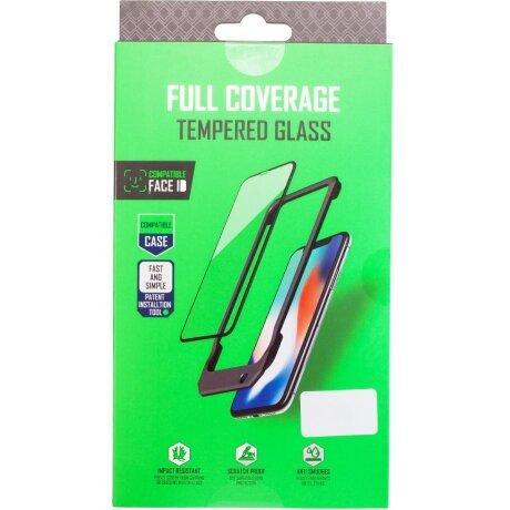 Folie Sticla Vipo Full Glue 2.5D pentru Samsung Galaxy A21s Negru