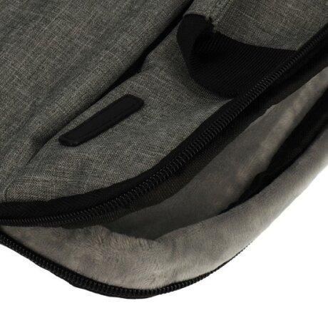 Geanta Laptop Fashion 14.1 Inch Gri Deschis