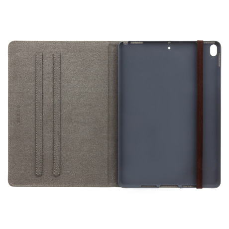 GUFCPA11QGB Guess 4G Folio Pouzdro pro iPad Air 10.5 2019 Black/Brown