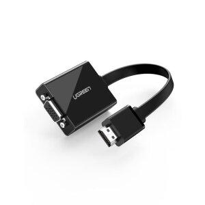 HDMI Ugreen VGA to Jack 3.5mm Negru