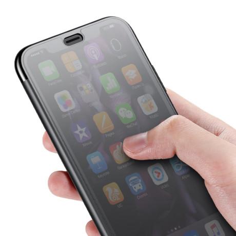 Husa 360 iPhone XS 5.8'' Translucent View, Baseus, Neagra